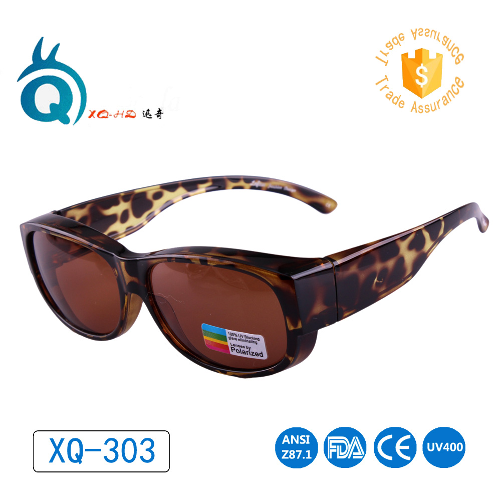 Glasses for outdoor sports polarized lens covers for Prescription fishing sunglasses