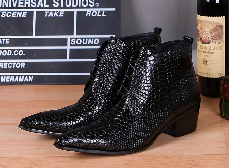botas militares western cowboy boots mens black python skin work shoes men ankle boots flats tactical boots winter footwear black autumn men ankle boots pointed toe botas hombre lace up botas militares wedding dress shoes mens cowboy boot