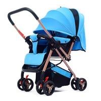 Бесплатная доставка легкий Детские Коляски складной Портативный Детская коляска Коляска новорожденных путешествия Кабриолет ручка коляс