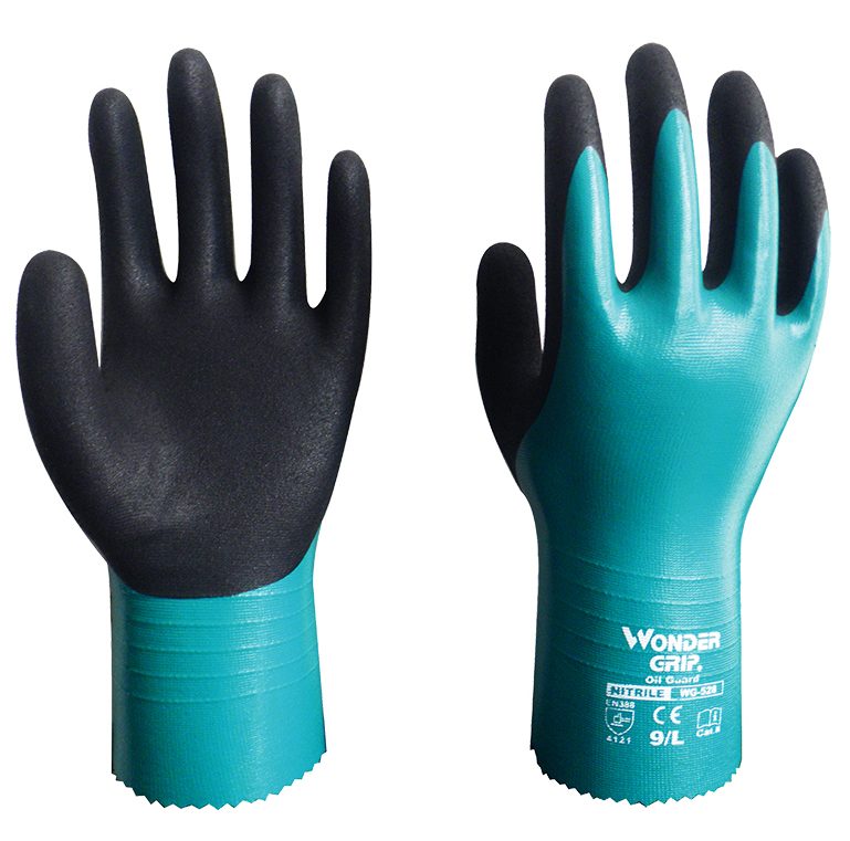 Oil And Gas Safety Glove Nitrile Rubber Abrasion Resistant Glove Antibiotic Water Proof Glove Chemical Resistant Work Glove