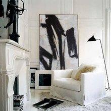 Экстра большая настенная живопись, абстрактная живопись, современное искусство, черно-белая живопись, холст искусство, большой холст искусство, картины на холсте