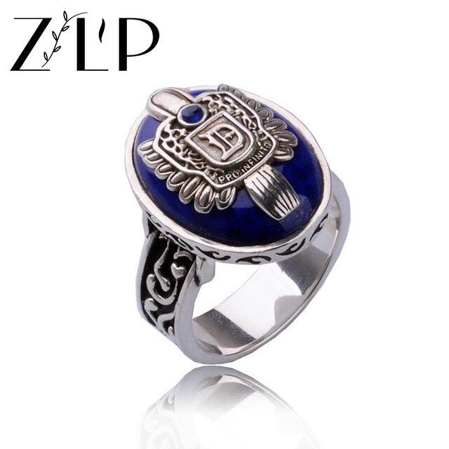 The Vampire Diaries Rings For Women Punk Retro Vintage Wedding Ring Whole Men Antique Silver Damon
