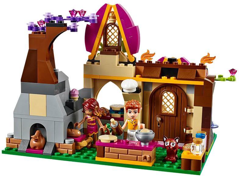 323pcs 2016 New Bela 10412 Azari and The Magical Bakery Model Building Blocks Girls Fairy Emily Jones Compatible With Lego Elves
