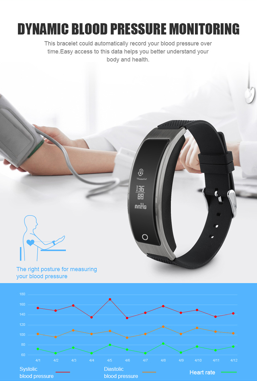 Smartch I8 Smart Bracelet Talk Band Heart Rate Blood Pressure Oxygen Pedometer Bluetooth smartband watch Than Huawei B3 7