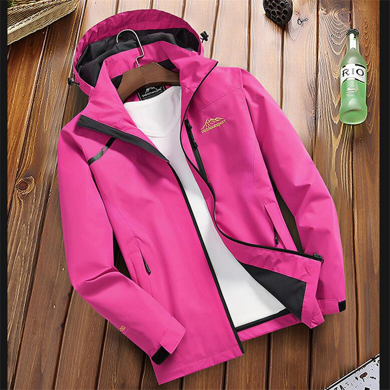 Women s Casual Waterproof Windproof Jacket Hooded Coat Spring Autumn Breathable Tourism Mountain Windbreaker Jackets Female Women's Casual Waterproof Windproof Jacket Hooded Coat Spring Autumn Breathable Tourism Mountain Windbreaker Jackets Female