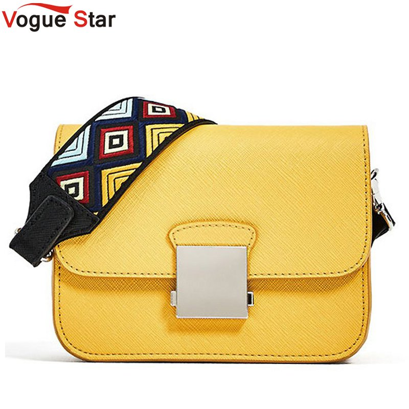 Vogue Star Brand Messenger Bags Women Flap PU Leather Shoulder Bags With Two Strap High Quality Hot Sale Crossbody Bags LB575