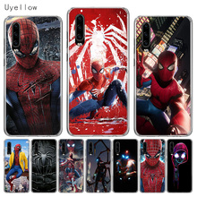 Uyellow Silicone Soft Phone Case For Huawei P10 P20 P30 Lite Pro Hawei Mate 10 20 lite P Smart 2019 Spiderman Marvel Cover