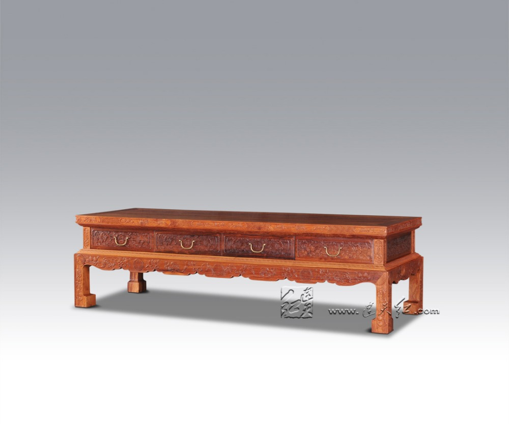 m m saln tv mesa padauk rosewood muebles para el hogar mesa lateral