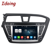 Idoing2Din Steering Wheel For Hyundai I20 2014 2015 8Core 32GB 8 Auto PC Android 6 0