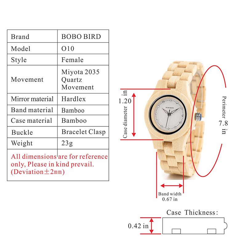 Watch Wood Wristwatches with Wooden Band Female Watches Lady Quartz Watch relogio feminino (62)