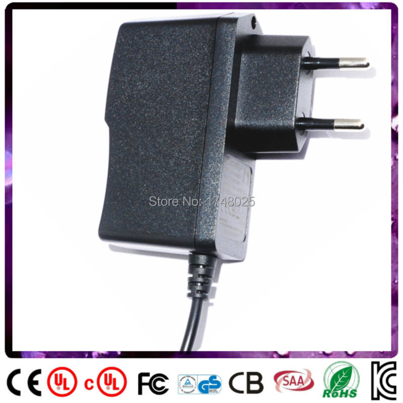 Free shipping <font><b>18v</b></font> 350ma adapter 0.35a 6w dc <font><b>adaptor</b></font> EU input 100 240v ac 5.5x2.1mm 0.9m DC cable Power Supply transformer image