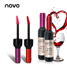 NOVO Makeup 5ml Red Wine Matte Lip Tint Lip Gloss 6 Colors Waterproof Lipgloss L