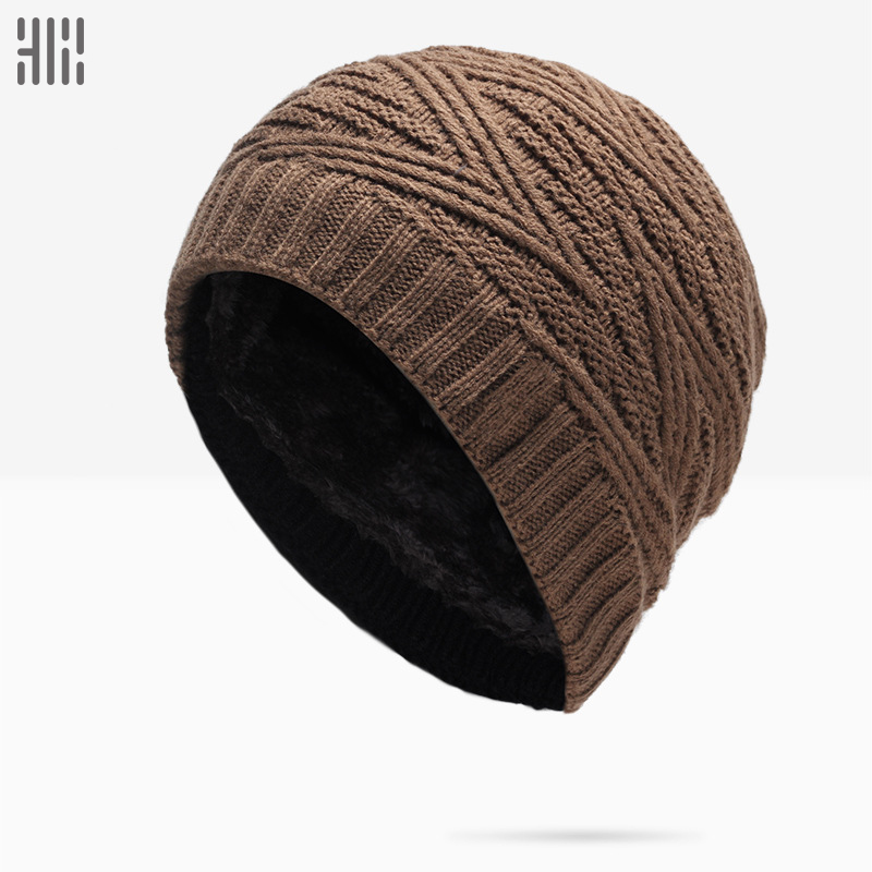 Winter Hat Sale Solid Adult Man And Woman 2017 New Fashion Warm Wool Knitted Hat Korean Style Winter Skullies&beanies Cap For princess hat skullies new winter warm hat wool leather hat rabbit hair hat fashion cap fpc018