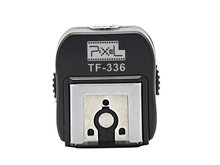 Pixel tf 336 ttl hot shoe adapter converter per sony a100 a200 a230 a300 a330 scarpa normale fotocamera per sony nuovo mi scarpa Speedlite