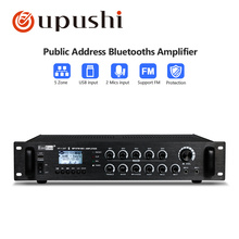 PA System Big Power Amplifier 5 Zone Bluetooth Amplifiers 120W To 700W Mixer