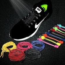 Упругие светящиеся шнурки, светильник, трендовые кроссовки, шнурки для обуви, круглые светодиодные шнурки для обуви, флуоресцентные шнурки