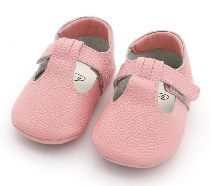 High quality mary jane style genuine Leather Baby Moccasins rubber sole Baby Shoes Newborn first walker T-bar Shoes 0-24M mary jane sterling u can algebra i for dummies