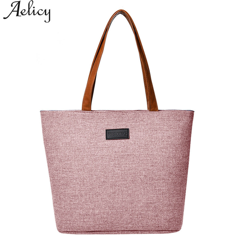 Luxury Ladies Duty Canvas Tote Bag Handmade Shopping School Travel Shoulder Bags For Woman Shopping Bags Luxury Brand
