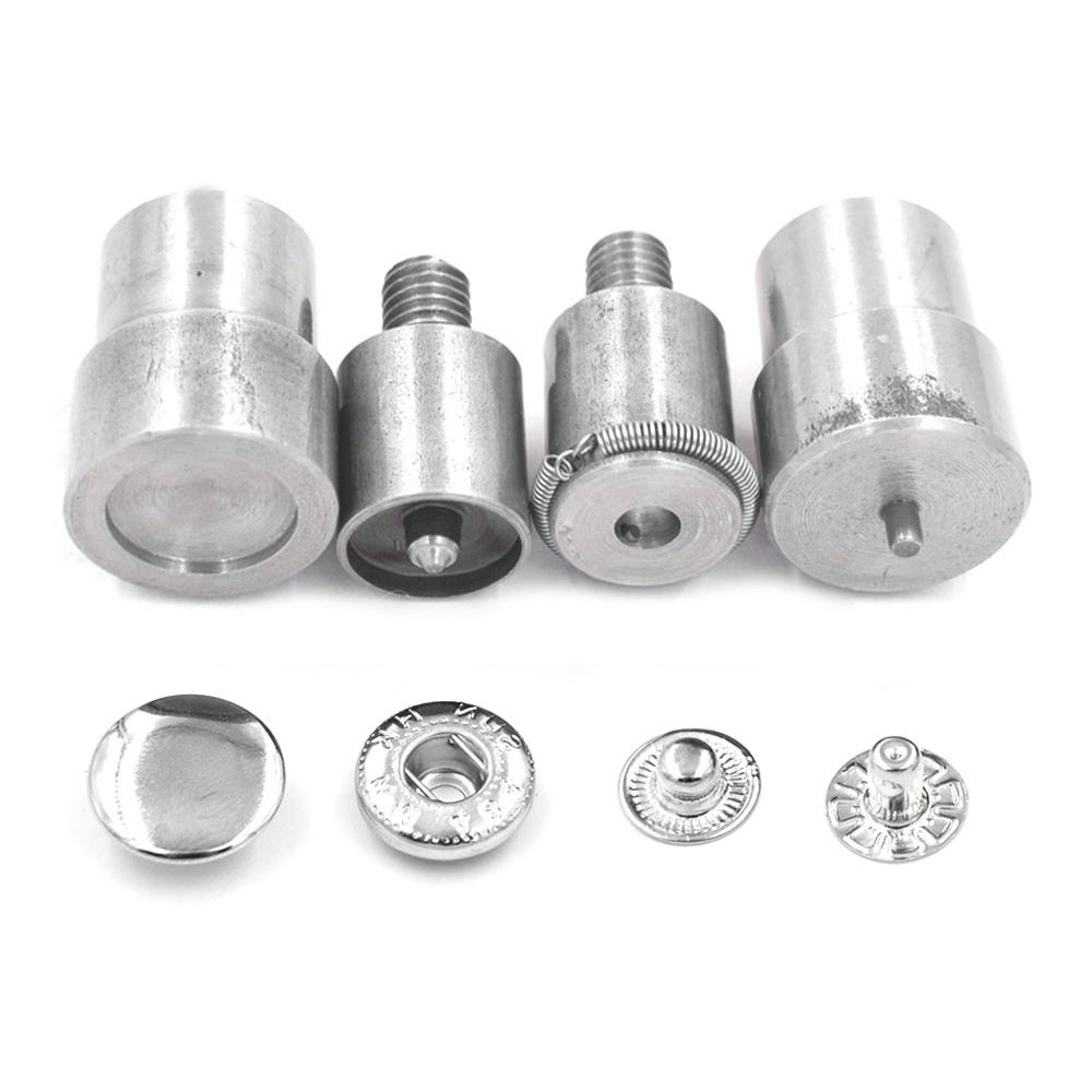 15mm 12.5mm Snaps Die Metal Buckle Installation Rivets. Eyelets. Metal Snaps.Press Machine Moulds Dies Button Installation Tools