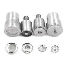Moule d'installation de boucle métallique, 15mm 12.5mm, Rivets, œillets, boutons métalliques, machine à pression, outils d'installation