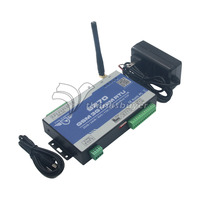 GSM M2M RTU Remote Monitor Temperature Humidty Alarm System SMS GPRS Communication BTS Access Relay Control