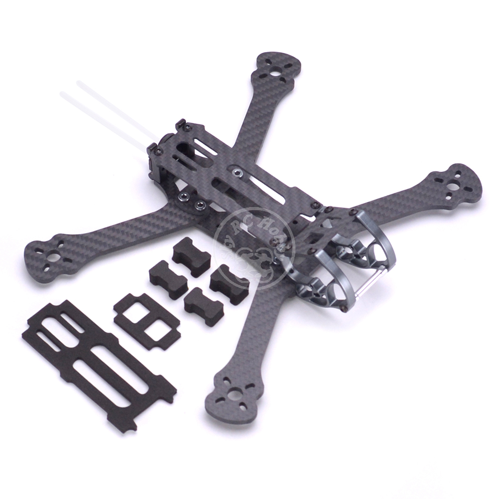 "Image 3 - Rooster 230 225mm 5"" FPV Racing Drone Quadcopter Frame 5 Inch FPV Freestyle Frame For Chameleon Rooster 230mm-in Parts & Accessories from Toys & Hobbies"