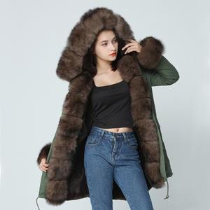 cb0c20b7dd OFTBUY winter jacket women parkas natural real fox fur coat