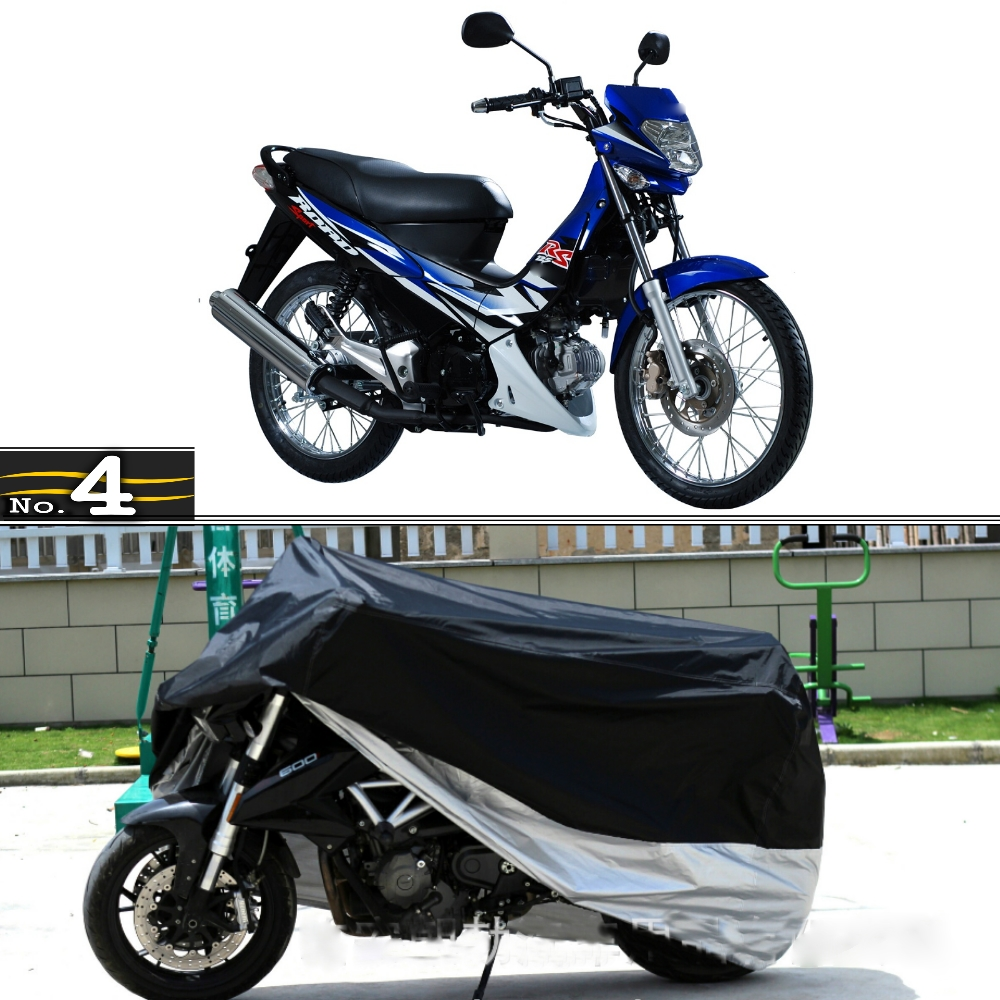 US $25 49 7% OFF|MotorCycle Cover For Honda XRM 125 WaterProof UV / Sun /  Dust / Rain Protector Cover Made of Polyester Taffeta-in Motocycle Covers