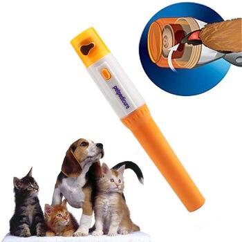 Alta qualidade elétrica automática pet moedor ferramenta arquivo de cuidados para animais estimação cachorro gato pata garra toe grooming grooming aparador clipper