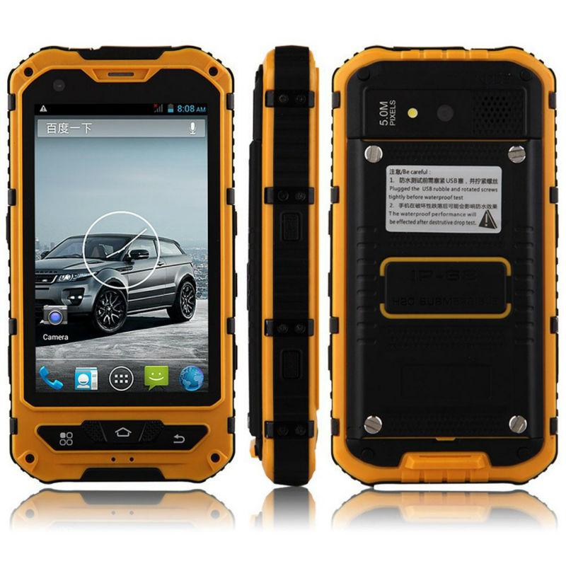 HTB1vPxmNXXXXXaIapXXq6xXFXXX0 - Original A8 IP68 A9 V9 Waterproof Shockproof Rugged  Mobile Phone MTK6582 Quad Core WCDMA 1G RAM 8G  Android 4.4 3G OEM ODM NFC
