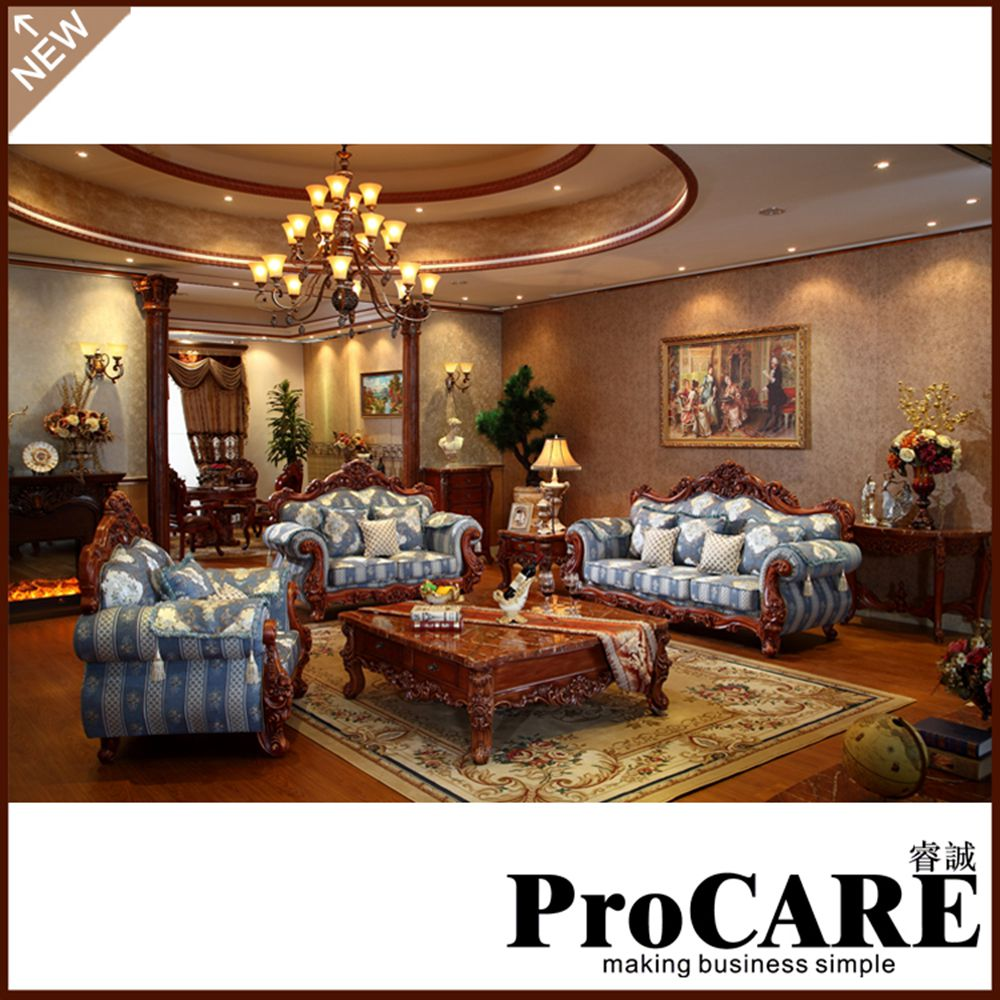 High Quality Wholesale Durable And Comfortable Fabric Sofa Set