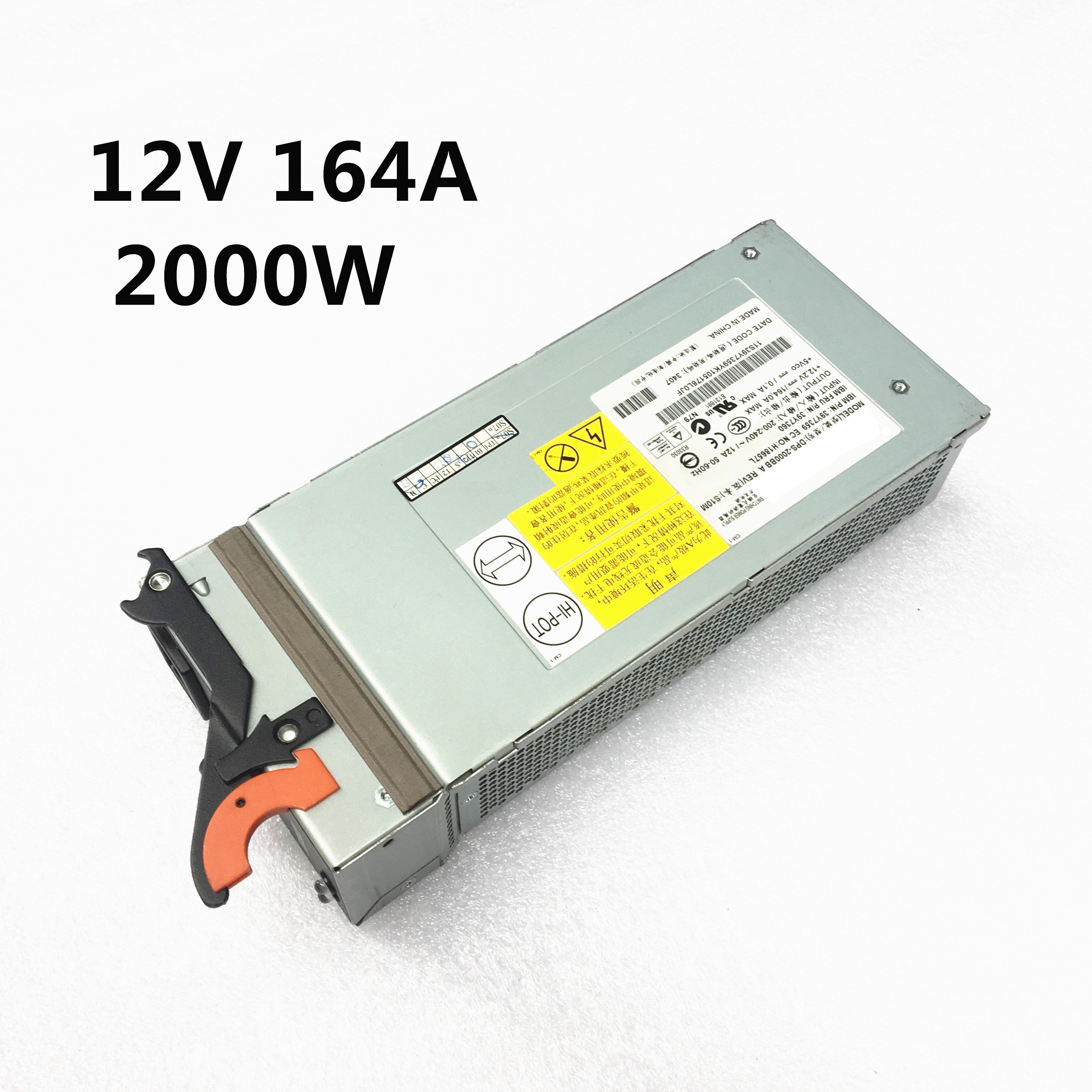 100 Strict test DPS 2000BB A Server power 39Y7359 39Y7360 74p4452 74p4453 12V 164A 2000W Switching