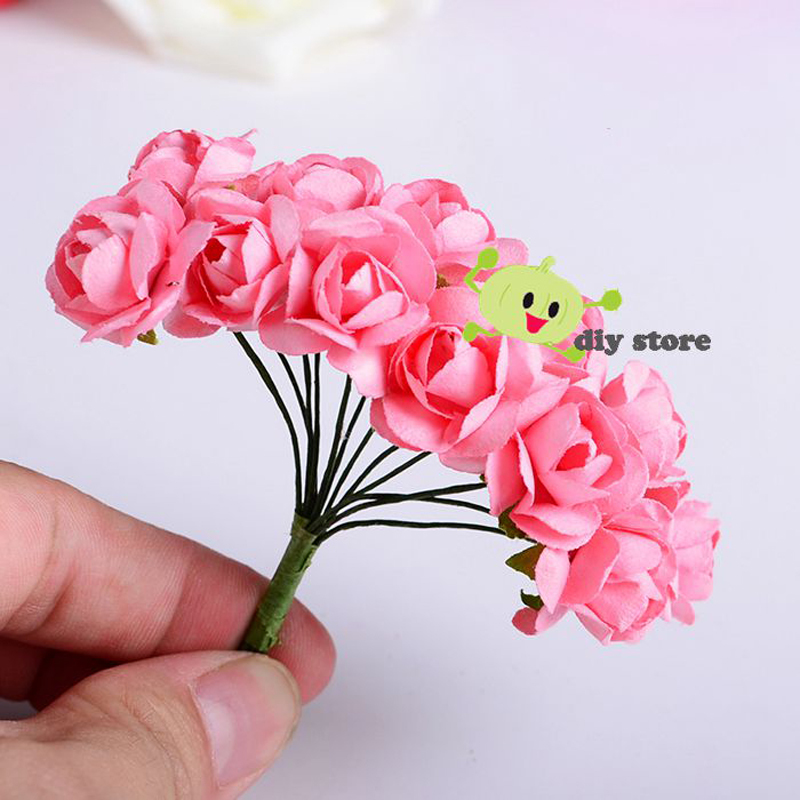 144pcs cheap small head wreath form rose tissue paper flower bouquet 144pcs cheap small head wreath form rose tissue paper flower bouquet garland wedding head wire wreath baby shower decorations in artificial dried flowers mightylinksfo