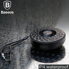 Baseus Mini Speaker Portable Bluetooth Outdoor Waterproof Bass sound Sports Music Player 3D Stereo Aux Audio Wireless