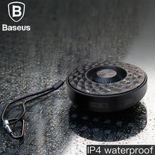 Baseus мини-динамик портативный Bluetooth открытый водонепроницаемый Бас Звук спортивный музыкальный плеер 3D стереозвук с аудиоразъемом AUX беспроводной динамик