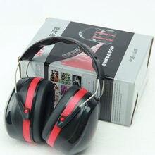 Protetor auditivo antirruído, fone de ouvido tático para caça e trabalho de estudo, proteção auricular