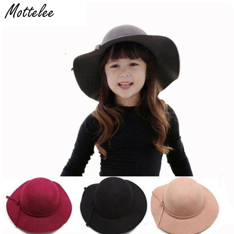 Mottelee 100% чистой шерсти шапки Шляпы фетровые для женщин Hofn Стетсон пляж флоппи широкими полями Защита от Солнца шляпа складной с галстуком дл...