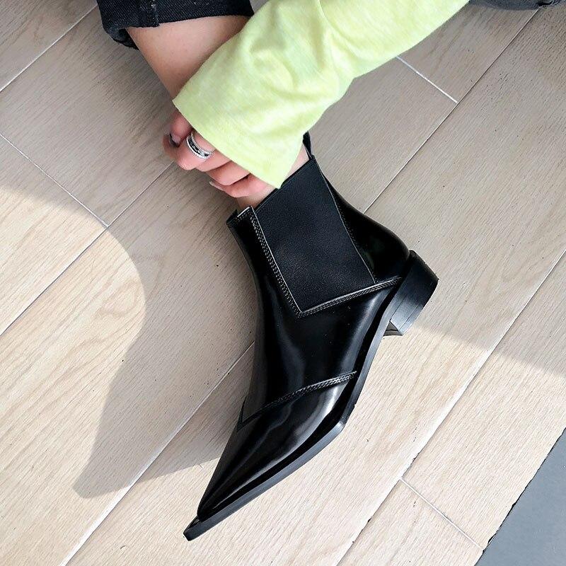 mulheres apontadas dedo do pé elástico mulheres
