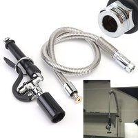 Commercial Kitchen Sprayer Faucet Tap Pre Rinse Spray Head With Flexible Hose New Arrival