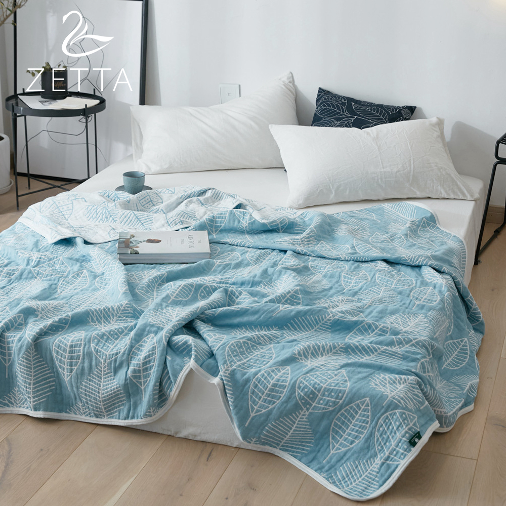 [ZETTA]  100% cotton double gauze air conditioning quilt Blanket Duvet Quilt Washed summer quilt 0004[ZETTA]  100% cotton double gauze air conditioning quilt Blanket Duvet Quilt Washed summer quilt 0004