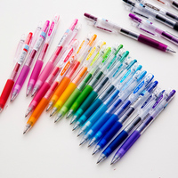 JIANWU 6pcs 12pcs 36pcs Set Japan PILOT Juice Pen Colour Gel Pen Press Neutral Pen School