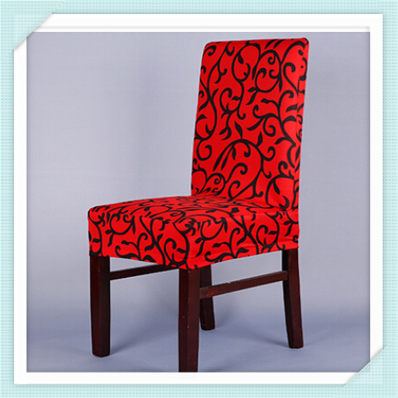 PRINTING CHAIR COVERS CREAM DINING ROOM PARTIES WEDDINGS ANY OCCASION STRETCH FIT BEST QUALITY JS 876