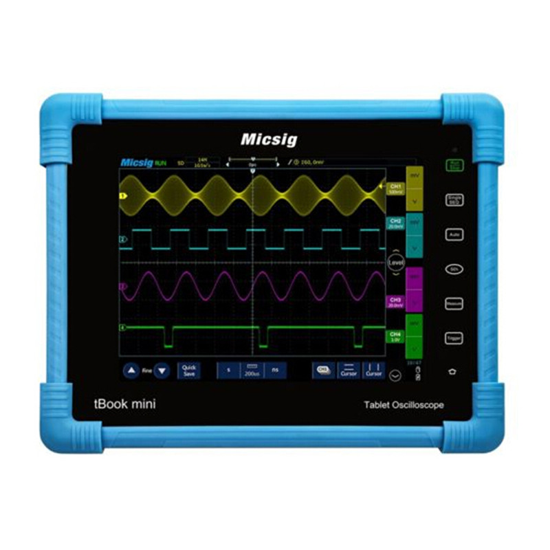 Micsig 2017 Digital Tablet Oscilloscope 150MHz 2CH 1G Sa S Real Time Sampling Rate Automotive Oscilloscopes