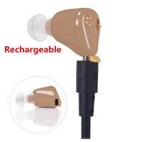 Rechargeable Ear Hearing Aid Mini Device Ear Amplifier Digital Hearing Aids In The Ear For Elderly