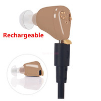 Rechargeable Ear Hearing Aid Mini Device Ear Amplifier Digital Hearing Aids In The Ear For Elderly