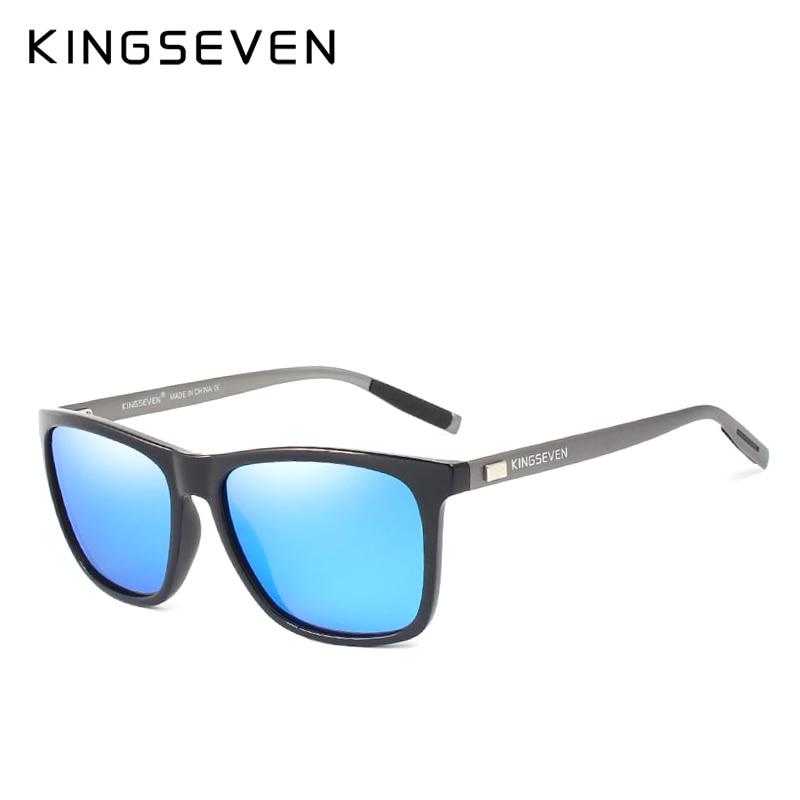 KINGSEVEN Nova Marca de Moda Designer de Alumínio óculos de Sol TR90 lente  Espelho Polarizado Masculino óculos de Sol óculos Para Os Homens em Óculos  de sol ... 88d3ce1b20