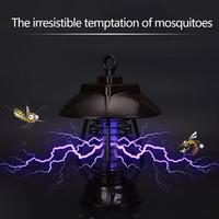 Outdoor Solar Panel LED Mosquito Killer Light IP64 Waterproof Lamp Insect Killer Mosquito Killer Lamp Night Lamp