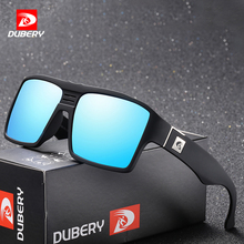 DUBERY Brand Design Polarized Sunglasses Mens  Male Goggle Colorful Sun Glasses For Men Fashion Luxury Mirror Shades Oculos