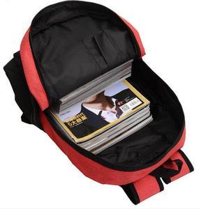 Image 4 - Anime Manga Naruto Backpack Bag Messenger Shoulder School Bag Naruto Akatsuki Cloud Symbol School Book Students Backpack