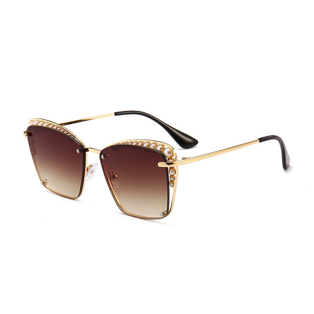 eca5b7293c Suprehot 10 Color Pearly Frame Beautiful Style Italy Design CE Wholesale Glasses  Sunglasses Women 10625